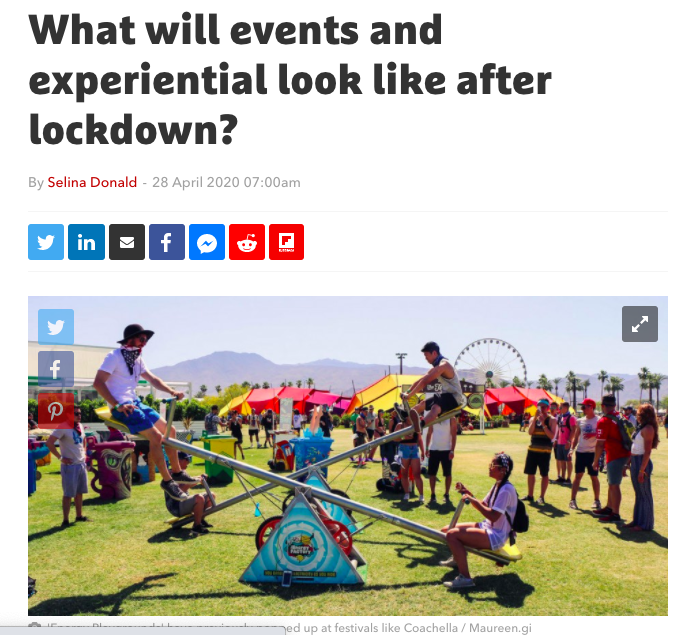 The Bulb | Future of Events Post-Lockdown